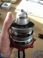 Assemblage delen van de Speedhub 500/14